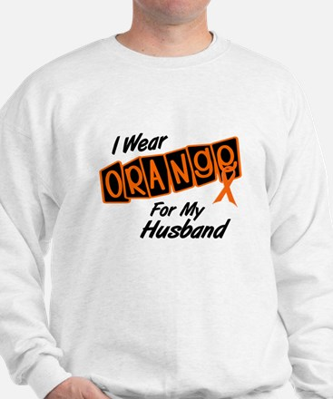 I Wear Orange For My Husband 8 Sweatshirt
