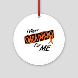 I Wear Orange For ME 8 Ornament (Round)