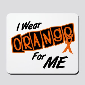 I Wear Orange For ME 8 Mousepad