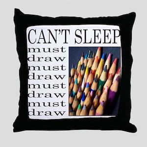 ARTIST/ART Throw Pillow