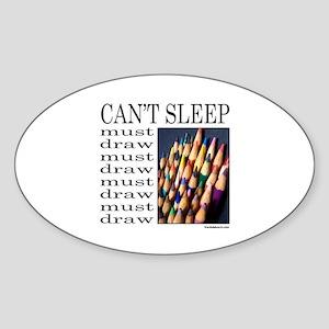 ARTIST/ART Oval Sticker