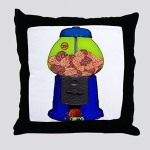 BRAIN MACHINE Throw Pillow