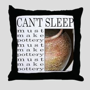 POTTER/POTTERY Throw Pillow