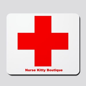 Mousepad - Nurse Kitty Boutique - Office Supplies
