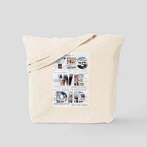 Yes We Did: Historic Obama Ne Tote Bag