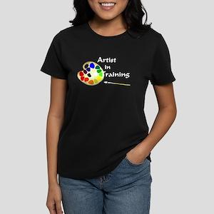 Artist in Training Women's Dark T-Shirt