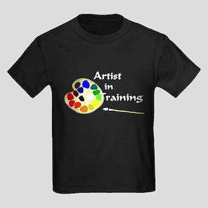 Artist in Training Kids Dark T-Shirt