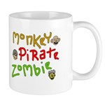 Monkey pirate zombie beverage containment device*