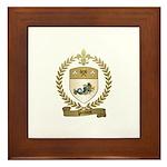 PROVOST Family Crest Framed Tile