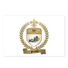 PROVOST Family Crest Postcards (Package of 8)