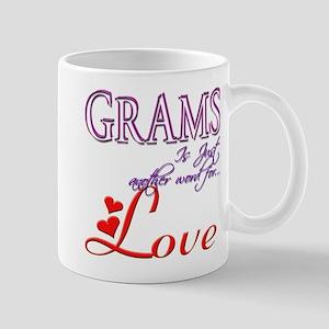 Grams Means Love Gift Mug