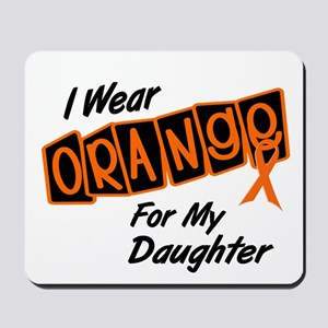 I Wear Orange For My Daughter 8 Mousepad