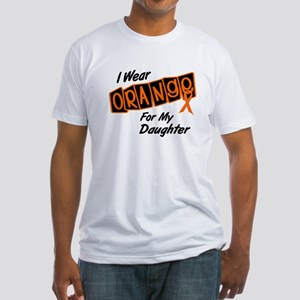 I Wear Orange For My Daughter 8 Fitted T-Shirt