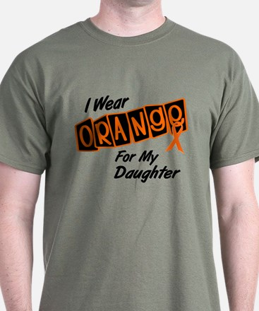 I Wear Orange For My Daughter 8 T-Shirt