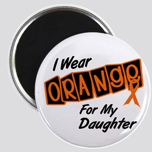 I Wear Orange For My Daughter 8 Magnet