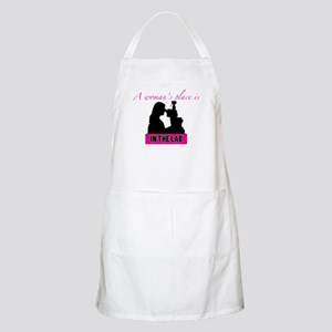 A Woman's Place BBQ Apron