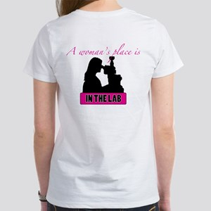 A Woman's Place Women's T-Shirt