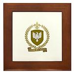 RACOIS Family Crest Framed Tile