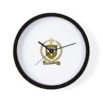 RACOIS Family Crest Wall Clock