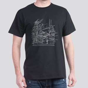 Architecture Art Design Dark T-Shirt