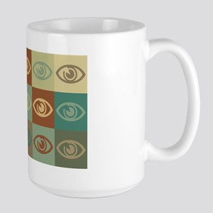 Optometry Pop Art Large Mug