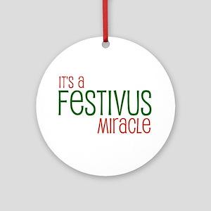 FESTIVUS™ Miracle Ornament (Round)