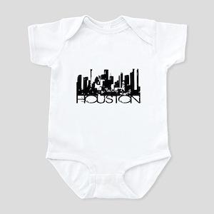 Houston Texas Downtown Graphi Infant Bodysuit