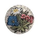 "Rocky Alpine Bouquet 3.5"" Button (100 pack)"