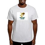 Happy Bunny Ash Grey T-Shirt