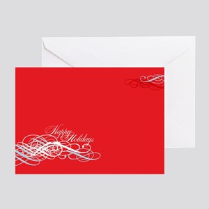 Happy Holidays Modern Greeting Cards (Pk of 10)