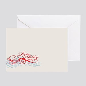 Happy Holidays Graphic Greeting Cards (Pk of 10)