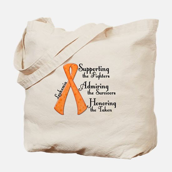 Supporting Admiring Honoring 4 Tote Bag