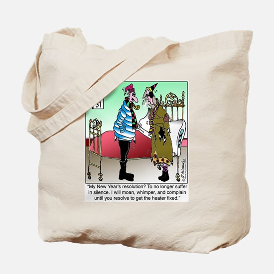 Resolve to no Longer Suffer in Silence Tote Bag