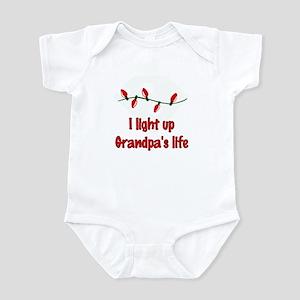 I Light Up Grandpa's Life Infant Bodysuit