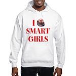 I Heart Smart Girls Hooded Sweatshirt