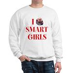 I Heart Smart Girls Sweatshirt