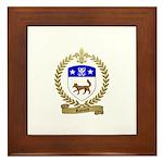 RAINARD Family Crest Framed Tile