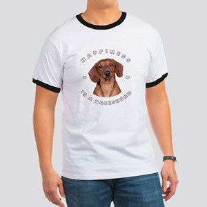 Happiness is a Dachshund! Ringer T