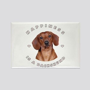 Happiness is a Dachshund! Rectangle Magnet