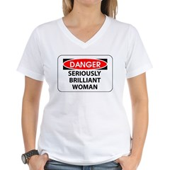 Seriously Brilliant Woman Shirt