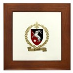 RAINVILLE Family Crest Framed Tile