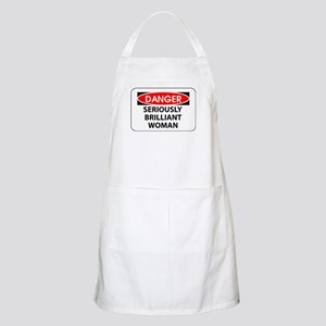 Seriously Brilliant Woman BBQ Apron