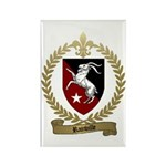 RAINVILLE Family Crest Rectangle Magnet