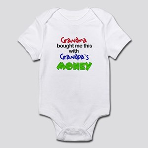 Grandpa's Money Infant Bodysuit