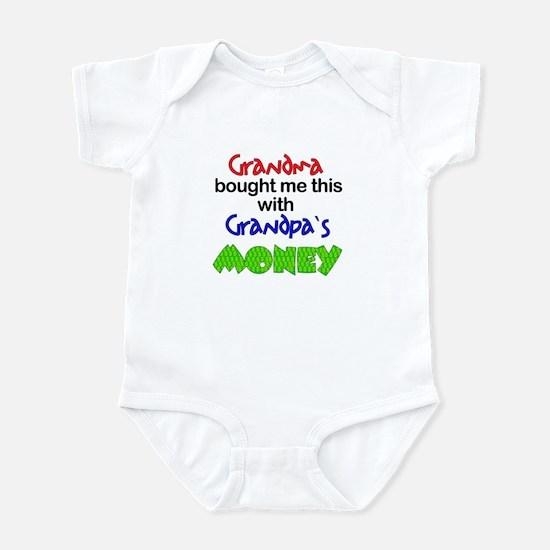 Grandpa's Money Infant Bodysuit
