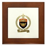 RAMEZAY Family Crest Framed Tile