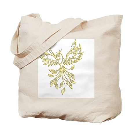 Golden Phoenix Tote Bag