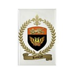 RAMEZAY Family Crest Rectangle Magnet
