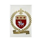 RAU Acadian Crest Rectangle Magnet