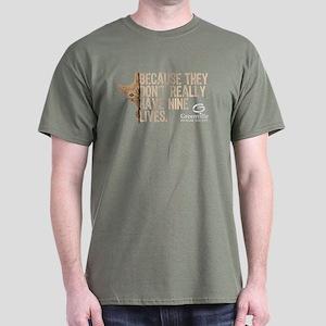 GHS-9 Lives-Dark T-Shirt